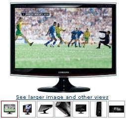 Samsung Touch of Color T260HD 26-Inch LCD HDTV Monitor