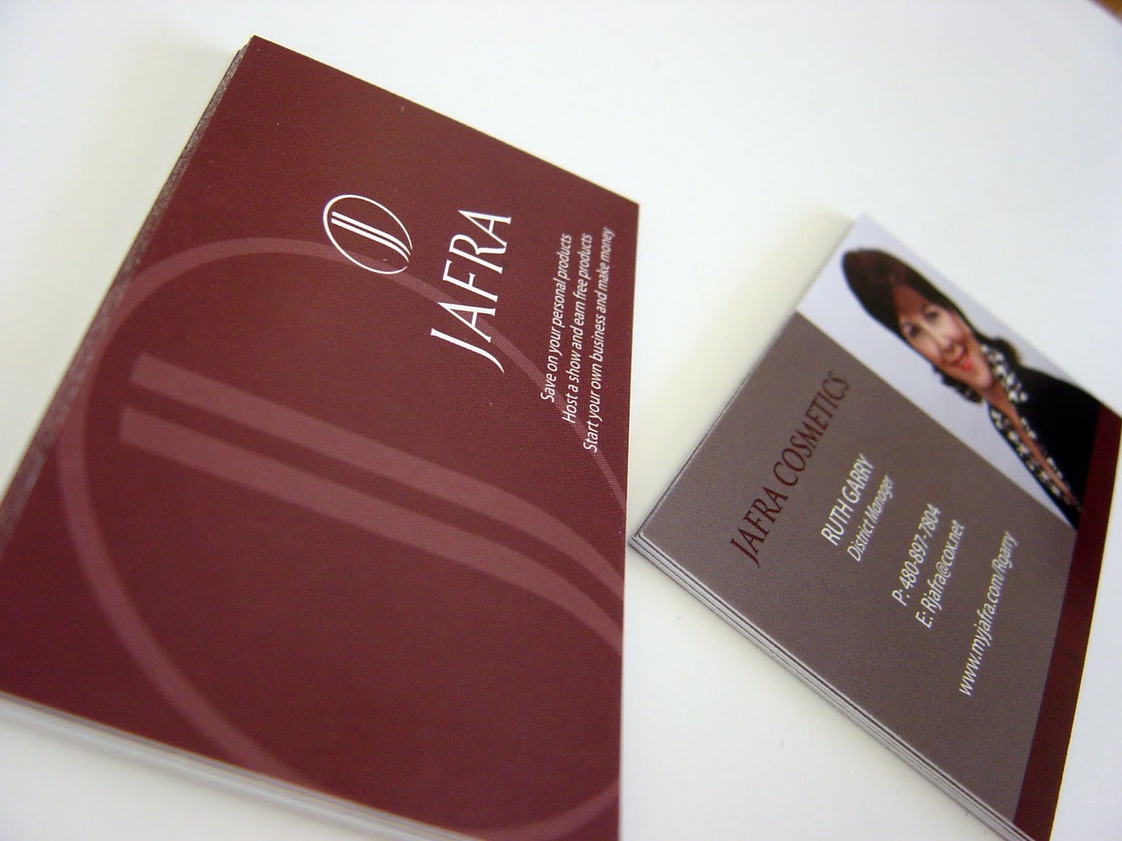 absolute edge design jafra business cards