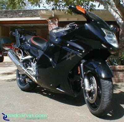 extreme motorcycles honda cbr1100xx super blackbird. Black Bedroom Furniture Sets. Home Design Ideas