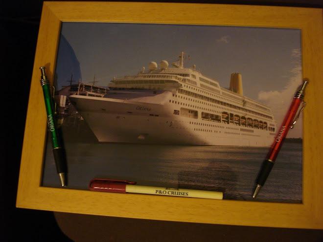 SHIP ORIANA P&O