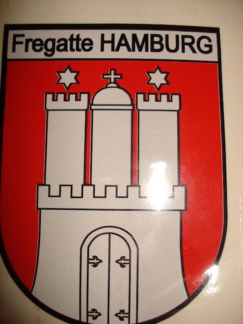 AUTOCOLANTE FREGATTE HAMBURG