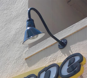 Sign and business lightings blog for architectural lighting and barn lights plays an important role in most fast food stores mozeypictures Images