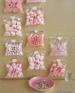 Latest and greatest bridal shower ideas martha also offers a list of 26 other pink bridal shower ideas lovely and even better you could change to suggestions to accomodate any palette altavistaventures Gallery