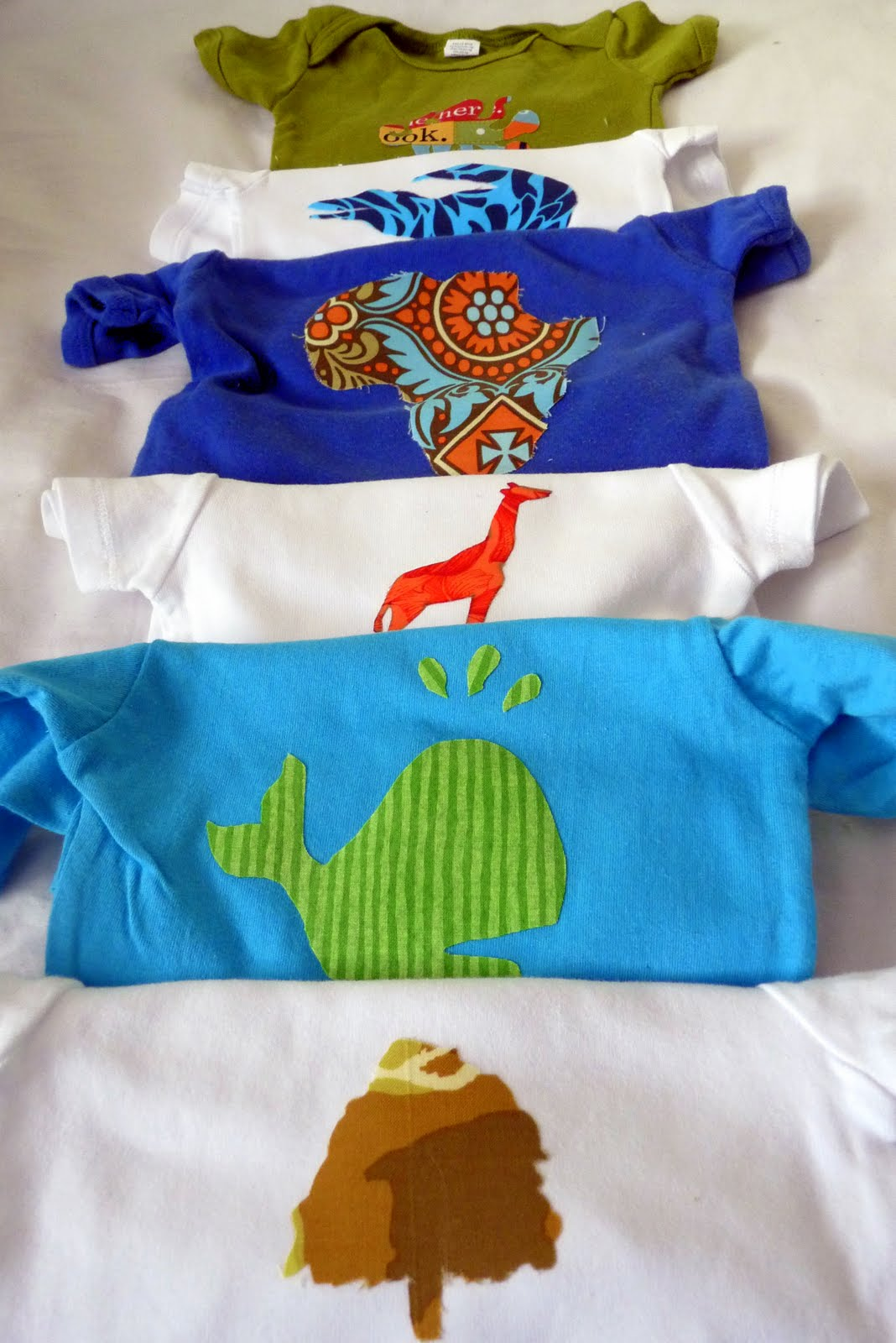 Pin Fabric Appliques As A Baby Shower 'game' on Pinterest