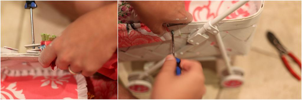 Как сделать коляску для кукол мастер класс