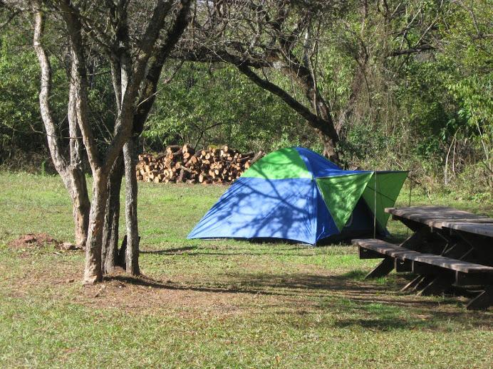 Camping agreste, P.N. El Rey