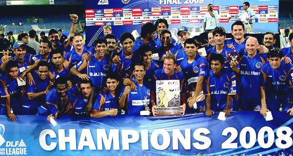 IPL 1 Winners Rajasthan Royals, IPL 2008 Winners Rajasthan Royals  (RR)