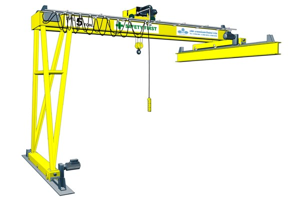 CRANE SEMI GANTRY