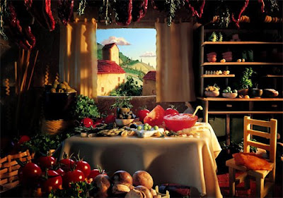 Italian decor! Italian Kitchen Decor - Italian Decorating Art