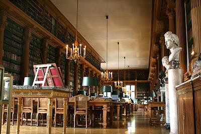 La bibliothèque Mazarine par Adelyn Lee