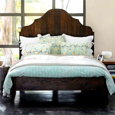 bed reclaimed wood