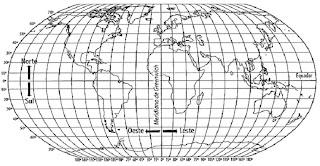 Mapas Mudos De Continentes E Coordenadas Geogr  Ficas