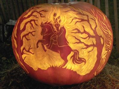 Hallovale Pumpkin Contest Headlesshorse