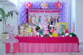 Bonecas da Stella: FESTA ANGELINA BALLERINA COM DETALHES