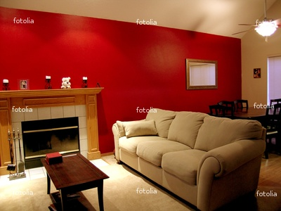 Red Living Room Walls