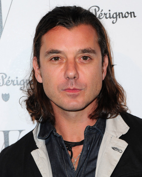 Gavin Rossdale Arrives To The W Magazine Golden Globe Awards Party On