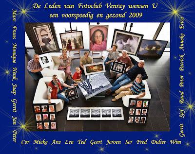 De beste wensen van alle leden van fotoclub Venray voor 2009