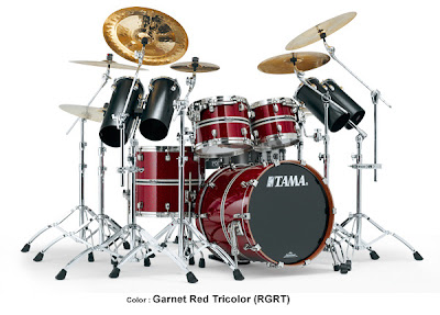 Tama Drum Set - Starclassic Bubinga ELITE Model