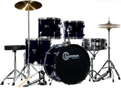 Gammon Drum Set - Gammon 5 Piece Drum Set