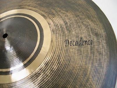 Saluda Decadence Series Cymbal