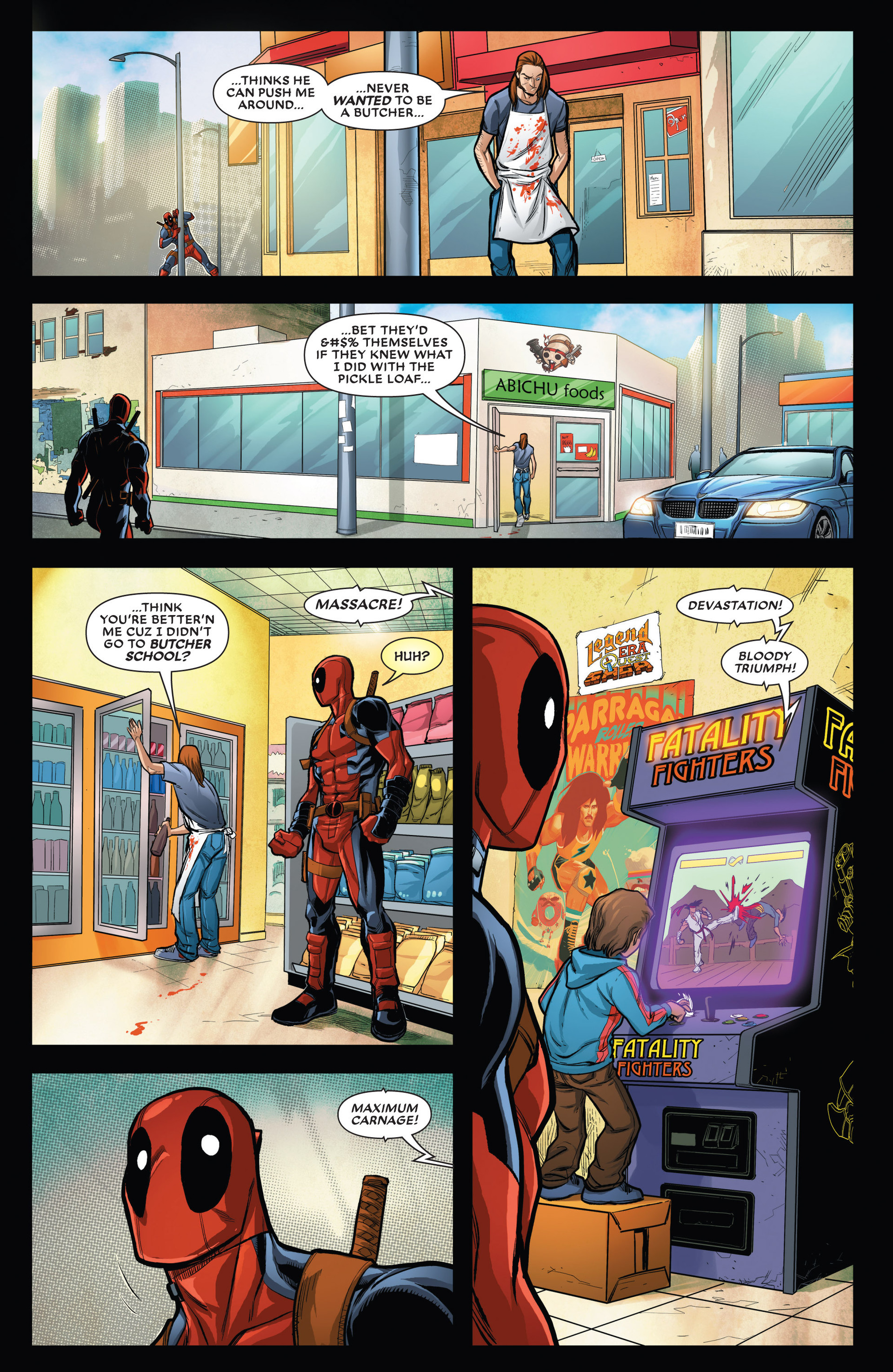 Read online Deadpool vs. Carnage comic -  Issue #1 - 13