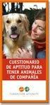 Cuestionario de aptitud para tener animales de compañía