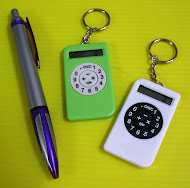 calculator keychains