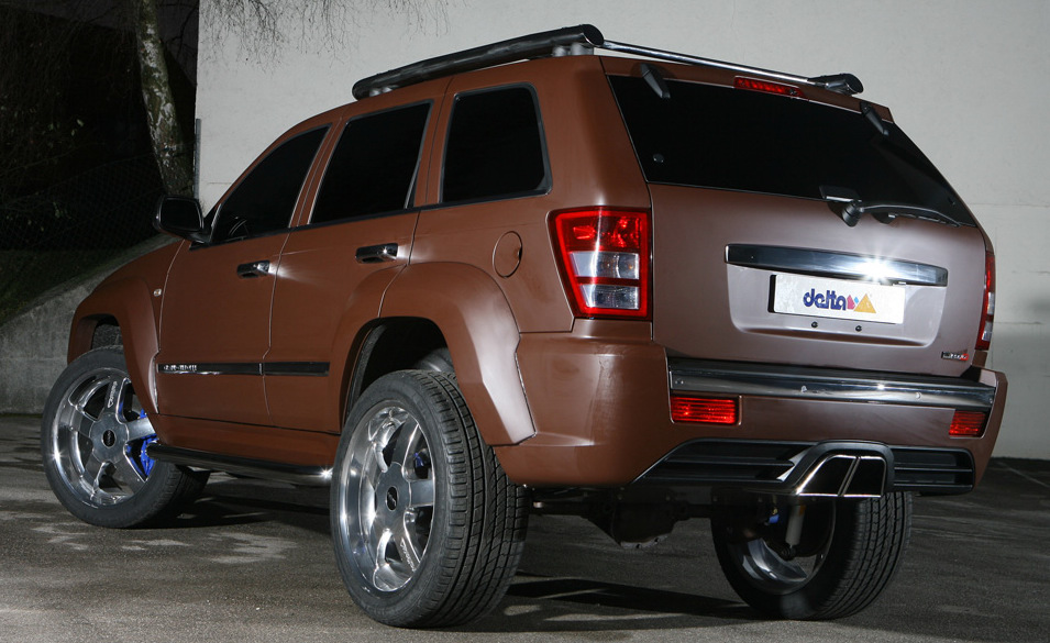 DUNE Jeep Grand Cherokee SRT-8 499HP Premieres In Essen - Carscoops