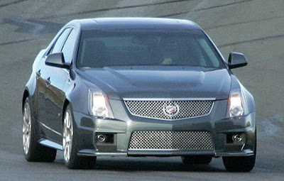 CV S 100 2009 Cadillac CTS V Captured Unmasked Photos