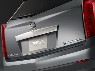 CadillacPRV 01 Cadillac Provoq Compact Fuel Cell SUV Concept Photos