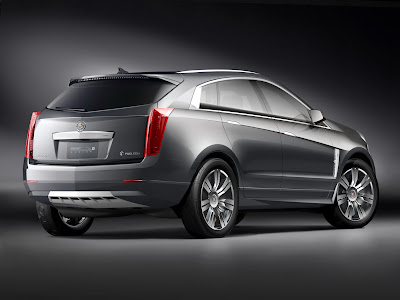 CadillacPRV 17 Cadillac Provoq Compact Fuel Cell SUV Concept Photos
