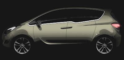 OpMer Geneva Preview: Opel Meriva Minivan Concept