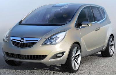 MerivOp 0 Opel Meriva Concept Official Images