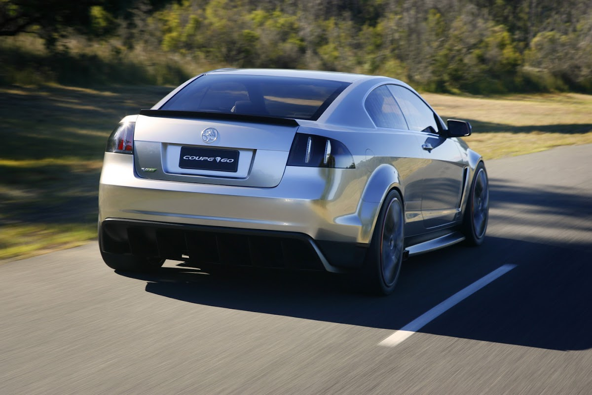 Holden coupe 60 commodore based concept previews monaro vanachro Images