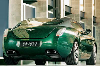 BBGTZ 4 Bentley Continental Zagato GTZ Photos