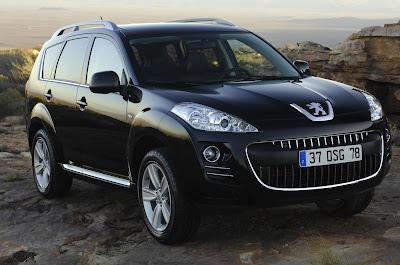 "Carscoop Peugeot 4007 Geneva Preview: Peugeot 4007 SUV & 4007 ""Holland&Holland"" Concept"
