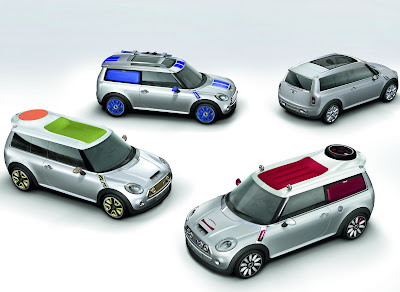"Carscoop MINIT 0 GENEVA: MINI claims Clubman name for its ""Shooting Brake"" model which goes on sale before the end"