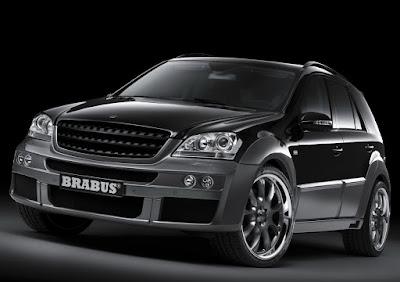 Carscoop BrabusML 0 Brabus Mercedes ML 63 Widestar