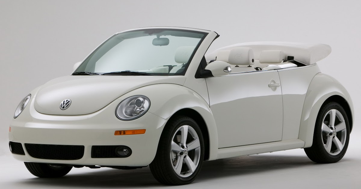 vw  beetle triple white limited edition
