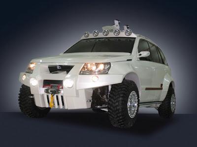 Carscoop BND 11 Suzuki Grand Vitara Bandit Concept