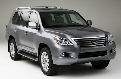 Carscoop 08 LX 570 10 NY Preview: Lexus LX 570