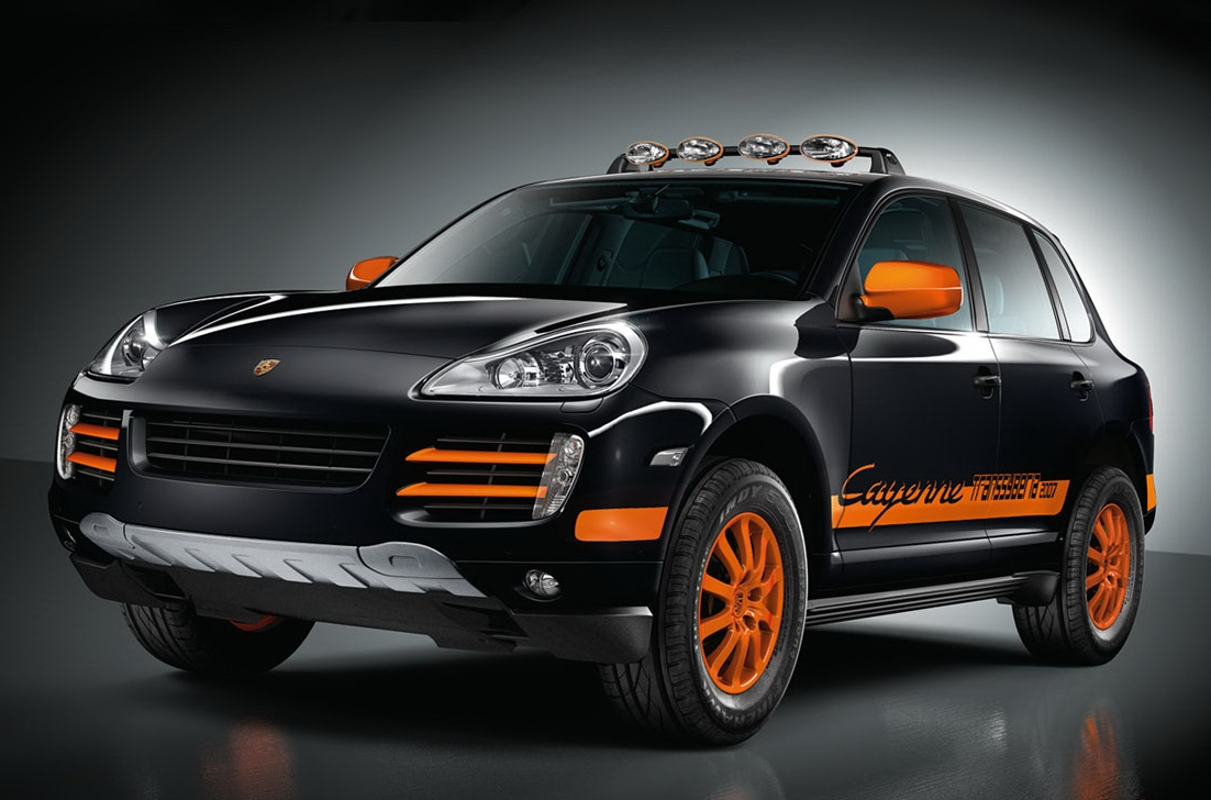 Porsche cayenne s transsyberia special version for the 6 200 km 3 850 miles long transsyberia rally