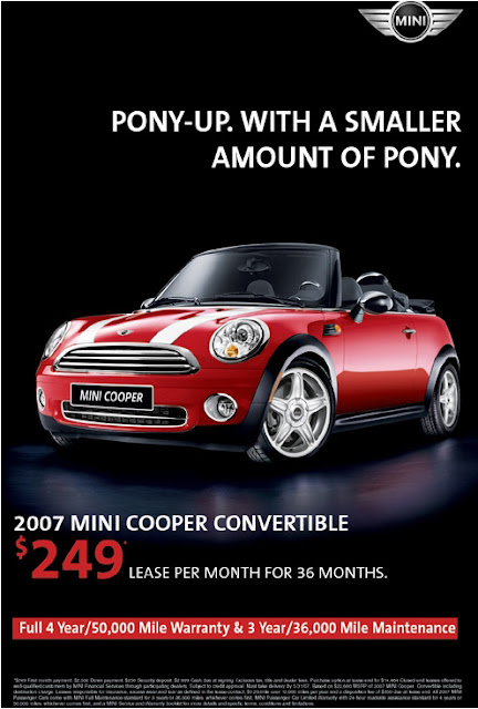 Carscoop MINI Convertible MINI Convertible Pops Up in Florida Based MINI Dealer Site!