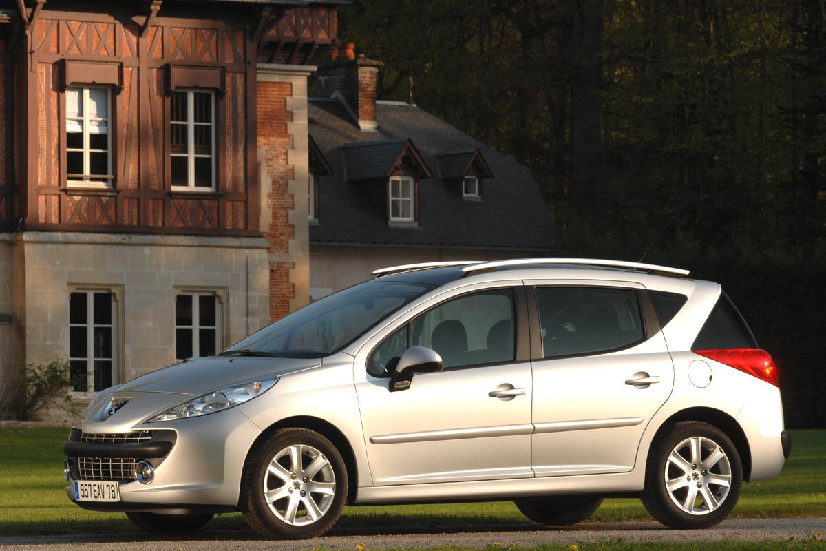 Carscoop Peugeot207SW3 Peugeot 207 SW: Leak, La Partie II...