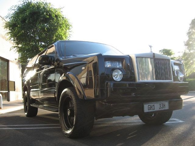 ebay rolls royce suv based on ford excursion. Black Bedroom Furniture Sets. Home Design Ideas