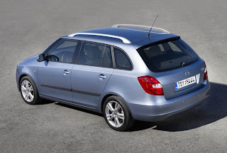 Carscoop FabiaComb 0000008 2008 Skoda Fabia Combi  Estate New Images & Details Released