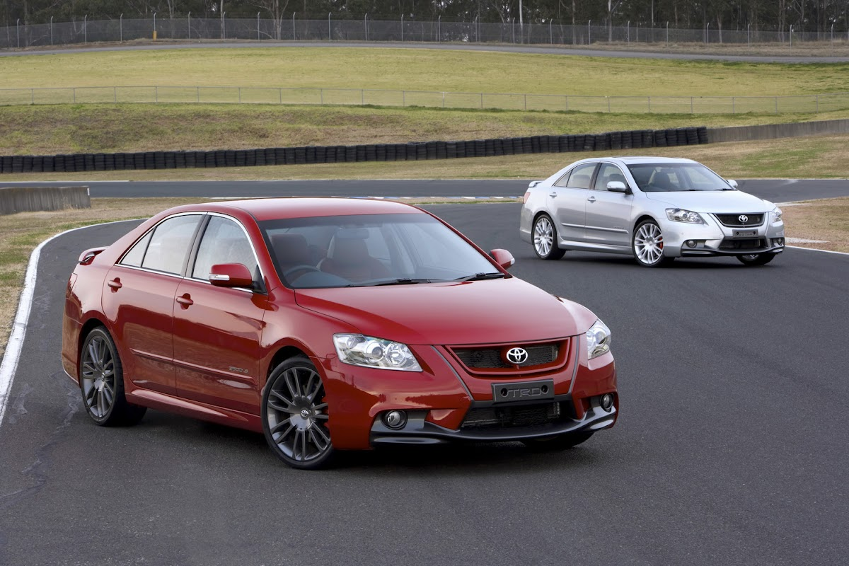 Toyota Aurion TRD Camry Based Sedan With A 329 Hp Supercharged V6