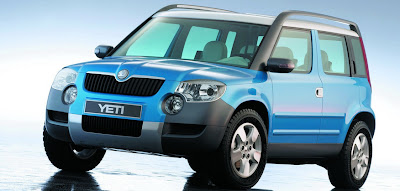 Carscoop SkodaYetiC 6 resize Skoda Confirms Yeti SUV Production Starts In 2009