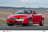 Alfa Brera Spider 2 Alfa UK Adds New Turbo Engines and Special Version to Brera and Spider Range Photos
