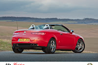 Alfa Brera Spider 1 Alfa UK Adds New Turbo Engines and Special Version to Brera and Spider Range Photos